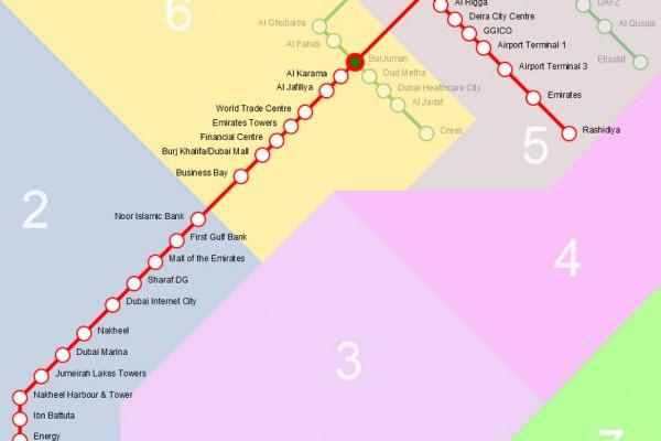 محطات مترو دبي أسماء تحت الرعاية مواقع فعلية المعرفة المالية