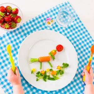 اكل صحي للأطفال
